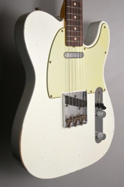 C.SHOP 2014 RELIC MOD 1963 TELECASTER OLYMPIC WHITE