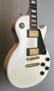 GIBSON LES PAUL CUSTOM WHITE 2000